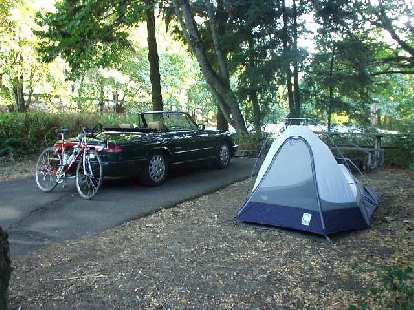 """The first night I camped in Viento State Park--an appropriate name, since """"viento"""" in Spanish means """"windy"""" (which this place most certainly is).  Despite my campsite being right next to the freeway and a freight train, I really liked this park."""