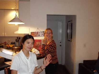Pin-pin and roommate Sonja.  Thanks to all for a great time!