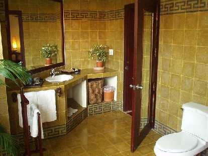 Bathroom at the resort in Mui Ne.