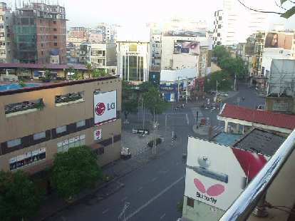Another view of the street.