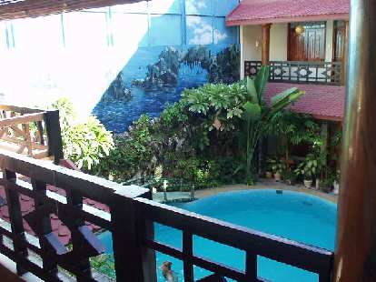 The nice indoor pool at Thinh Bin III was very welcome considering how hot Hoi An was.