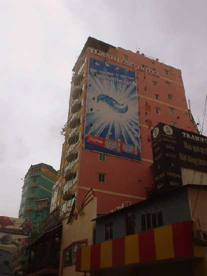 This is where I stayed during all of my time in Saigon: the Hai Long I Hotel.