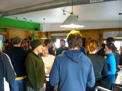 Funkwerks---in Fort Collins Brewery's old location---was packed.