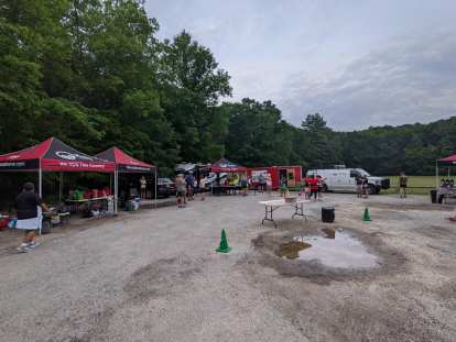 The event venue for the Mainly Marathons Independence Series New Jersey Marathon in Stokes State Forest, Branchville, New Jersey.