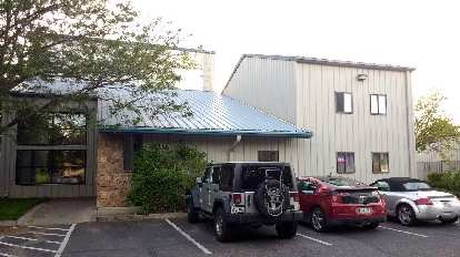 This nondescript building housed my favorite indoor rock climbing gym for the last eight years.
