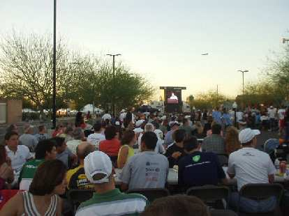 """The usual Ironman speeches were given and """"Ironman count"""" done.  From the latter, we learned that over 900 athletes here were doing an Ironman for a first time, and that one guy had done 47 of them."""