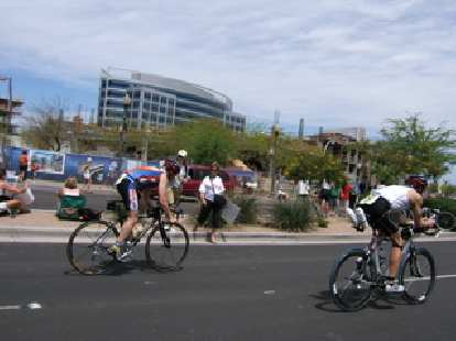 J.C. flying on the bike.