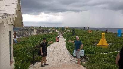 Felix Wong, Julian Ganton, Mayan Ruins, Isla Mujeres
