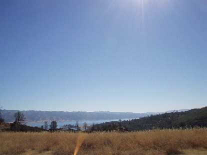 Mile 65, 10:25 a.m.: Lake Berryessa comes into full view along Pope Canyon Rd.