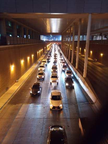 Bad traffic in Las Vegas.