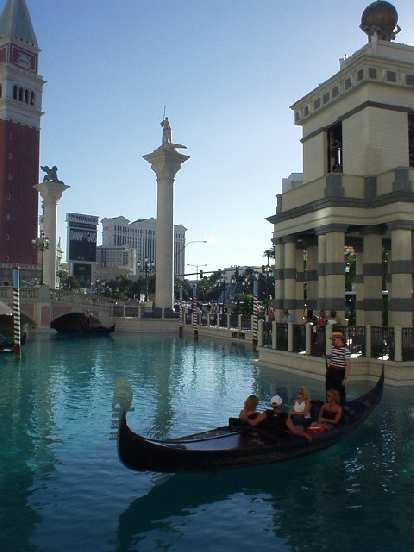 The Venetian had overtones of Venice, but not quite.  E.g., the water here was way too blue and clear!