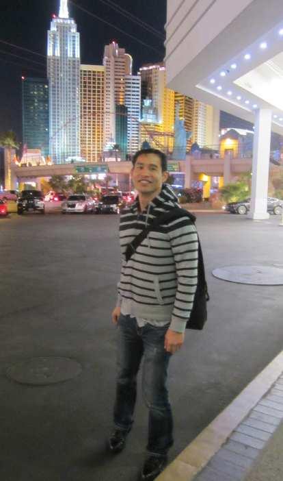 Felix Wong at Tropicana across from New York-New York.