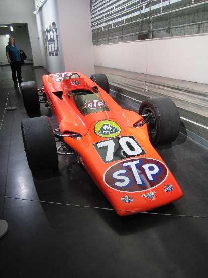 "1968 Lotus Turbine ""Wedge"" #70 race car."