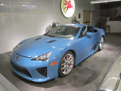 2012 Lexus LFA.  It looked much better in person than in photos---particularly in this nice blue color.