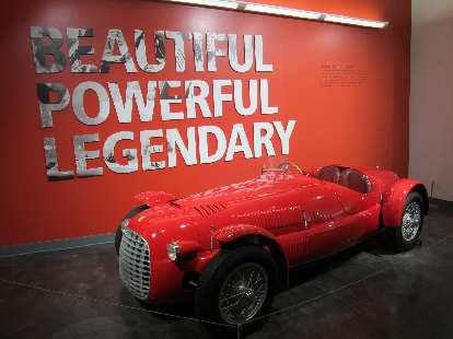 Ferrari race car.