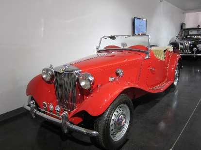 1952 MG TD.
