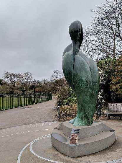 Isis by Simon Gudgeon, near the Princess Diana Memorial Fountain.