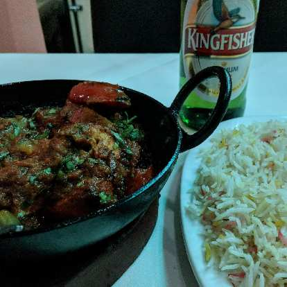There are a lot of good Indian restaurants in London.