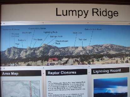 Overview of the Lumpy Ridge area.