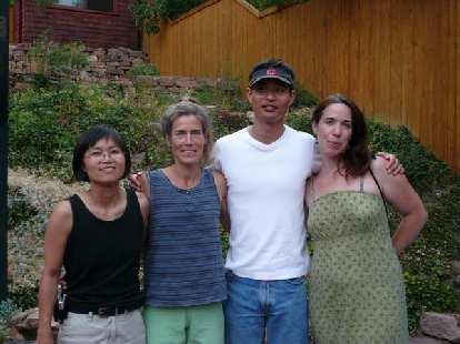 Ann, Lynn, Felix, and Carolyn.