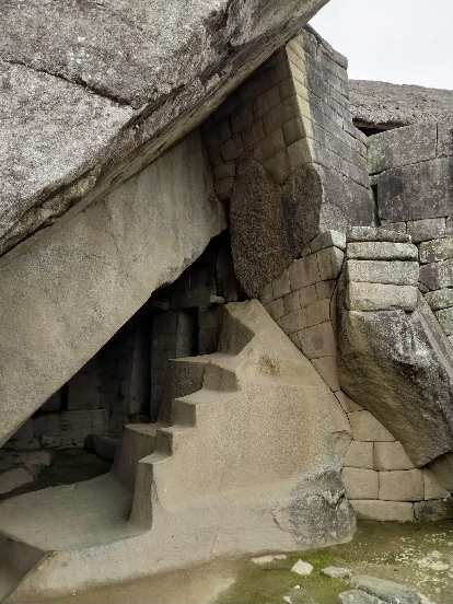 Cool stone work at Machu Picchu.