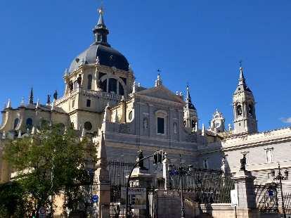 Catedral de la Almudrena in Madrid, Spain.