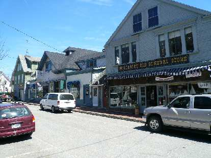 "The General Store off of Main St. in Wiscasset (""Maine's Prettiest Little Town."")"