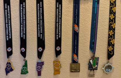 Thumbnail for Related: Eight Marathons in One Month: Recap (2021)
