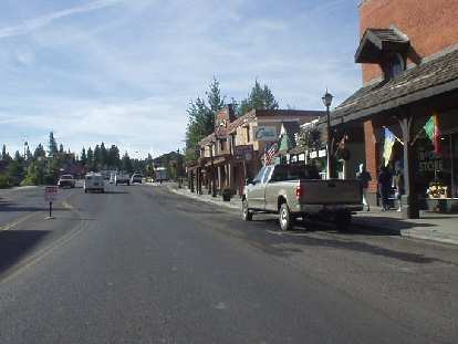 Another photo of downtown McCall.  McCall definitely has a rustic feel to it with a lot of retired folks, not unlike Mt. Shasta City, CA or Sisters, OR.