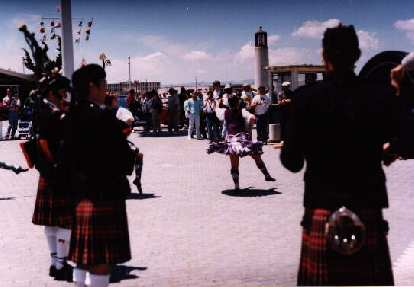 Even the bagpipe chicks came.Needless to say we all had a greattime.