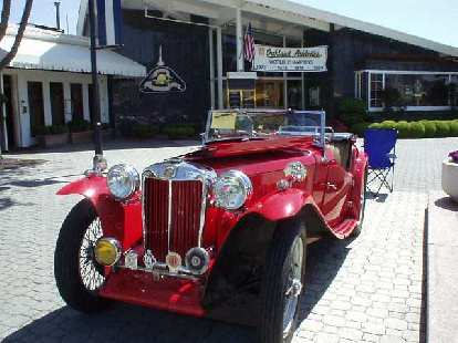 MG TC, the model that started America's love affair with sports cars.