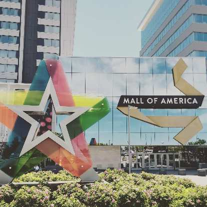 The Mall of America is supposed to be the largest mall in the United States in terms of number of stores and total floor area, but I imagined it would look larger.