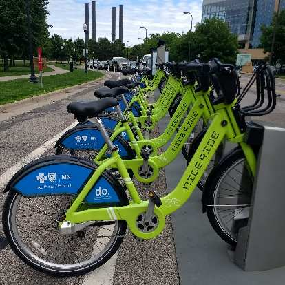 Bike share is alive and well in Minneapolis, thanks to Nice Ride.