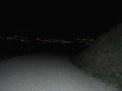 Hiking down was even more enjoyable than going up with all the twinkling lights from Fremont and beyond.