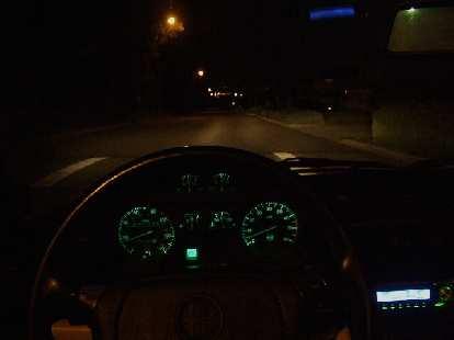 I was done by 1:30 a.m. and hence got to do a nice relaxed cruise back home in the Alfa.