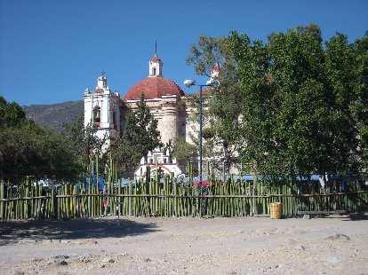 The Church of San Pedro.