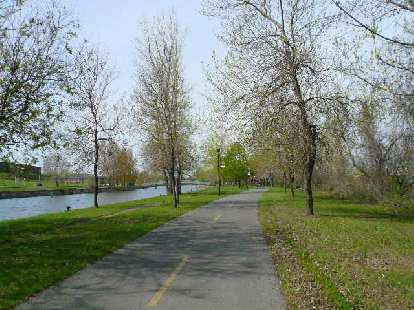 ... or this one along Le Canal de Lachine.