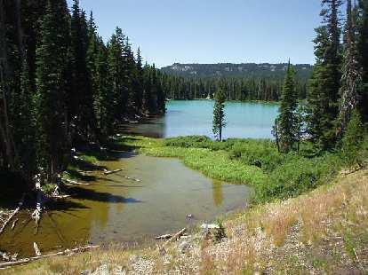 [Mile 30] Devil's Lake?  Not sure.