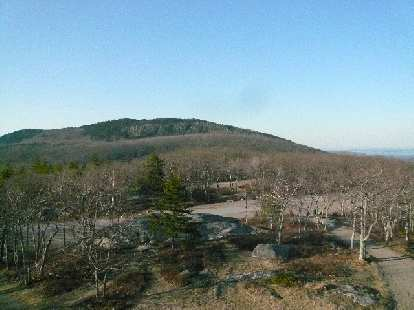 Mt. Megunticook is next to (and a little higher than) Mt. Battie.  I did not have time to go up this.