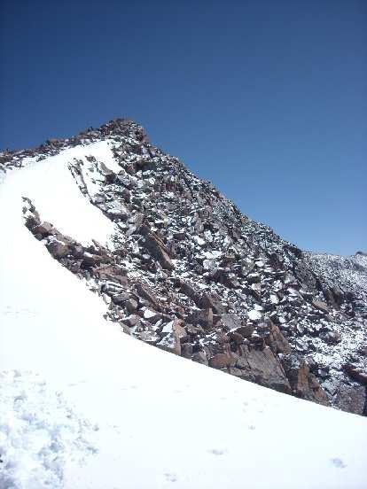 Ridge to the summit.