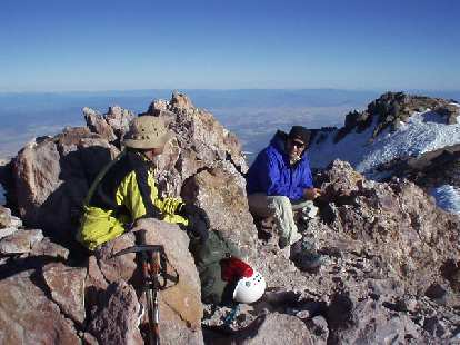 Dave at the top along with another dude.