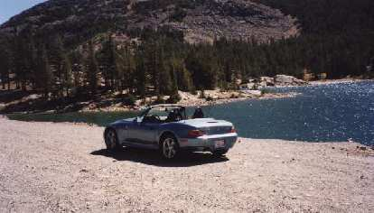 After making it down Mt. Whitney okay, I got to go back through Yosemite in my Z3.