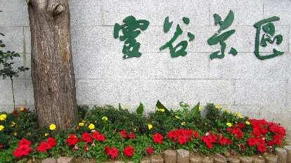 Wall at the Sun Yat Sen Mausoleum.