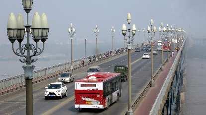 The Yangtze River Bridge.