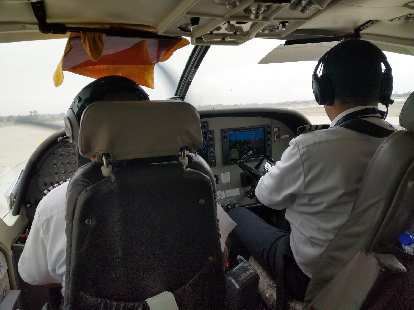 The pilots of our aircraft.