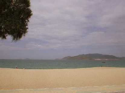 The beach at Nha Trang.