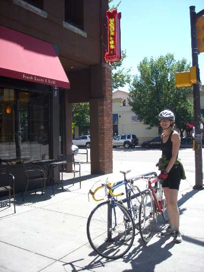 Back at the Fort Collins Noodles for lunch.