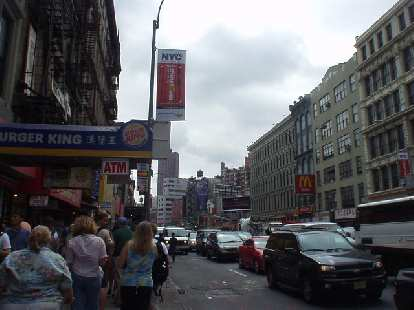 A Chinese Burger King and McDonalds... in Chinatown.  We did not eat here!