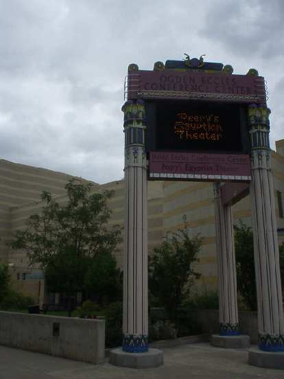 The Ogden Conference Center and Egyptian Theater.