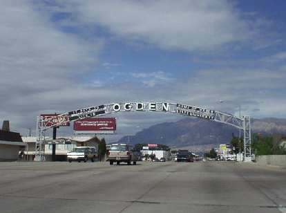 """Welcome to Ogden -- Home of Weber State University,"""